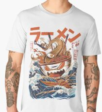 The Great Ramen off Kanagawa Men's Premium T-Shirt