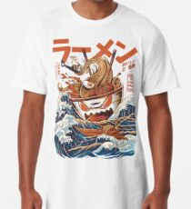 The Great Ramen off Kanagawa Long T-Shirt