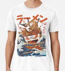 Camiseta premium El Gran Ramen frente a Kanagawa