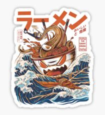 The Great Ramen off Kanagawa Sticker