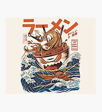 The Great Ramen off Kanagawa Photographic Print