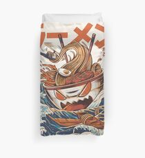The Great Ramen off Kanagawa Duvet Cover