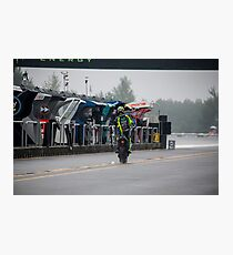 Valentino Rossi The Doctor  Photographic Print