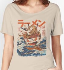 The Great Ramen off Kanagawa Women's Relaxed Fit T-Shirt