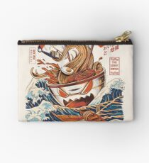 The Great Ramen off Kanagawa Zipper Pouch