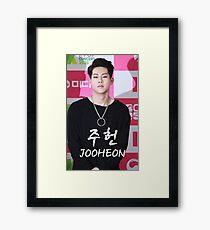 Monsta X - Jooheon 주헌 Framed Print