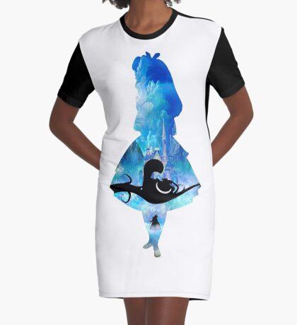 Bienvenidos a Wonderland Vestido camiseta