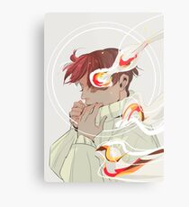 A Calm Flame Metal Print