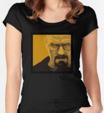 Walter White - Polygon Art Women's Fitted Scoop T-Shirt