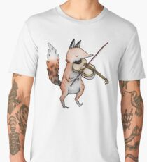 Violin Fox Men's Premium T-Shirt