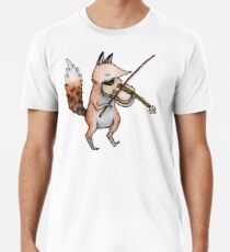 Violin Fox Premium T-Shirt