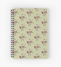Violin Fox Spiral Notebook