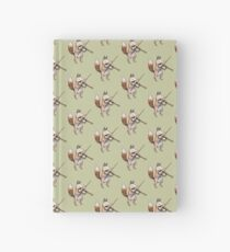 Violin Fox Hardcover Journal