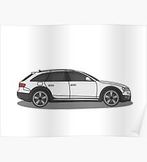 Audi Allroad Poster