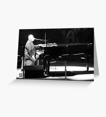 Billy Joel Greeting Card