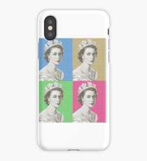 God Save The Queen x 4 iPhone Case/Skin