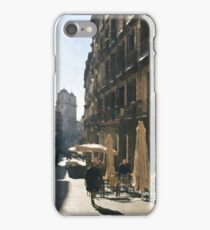 Madrid in the morning iPhone Case/Skin