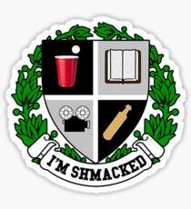 I'm Shmacked!  Sticker