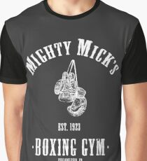 Mighty Micks Boxing Gym Graphic T-Shirt
