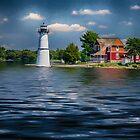 Rock Island Light by Kathy Weaver