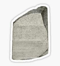 Rosetta Stone Sticker