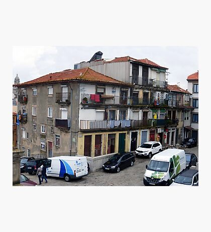 City Life in Porto, Portugal Photographic Print