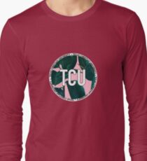 Texas Christian University TCU Pink Palm Leaves T-Shirt