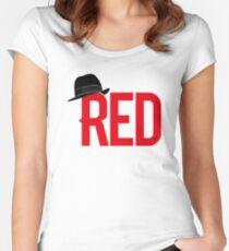 Camiseta entallada de cuello redondo 'Red' Reddington