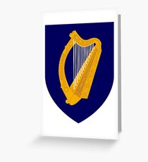 Coat of arms of Ireland Greeting Card