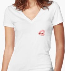 Lip! Women's Fitted V-Neck T-Shirt