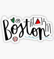 Pegatina Bostón