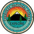 CHEROKEE NATIONAL FOREST TENNESSEE HIKING OUTDOOR NATURE CAMPING 2 by MyHandmadeSigns