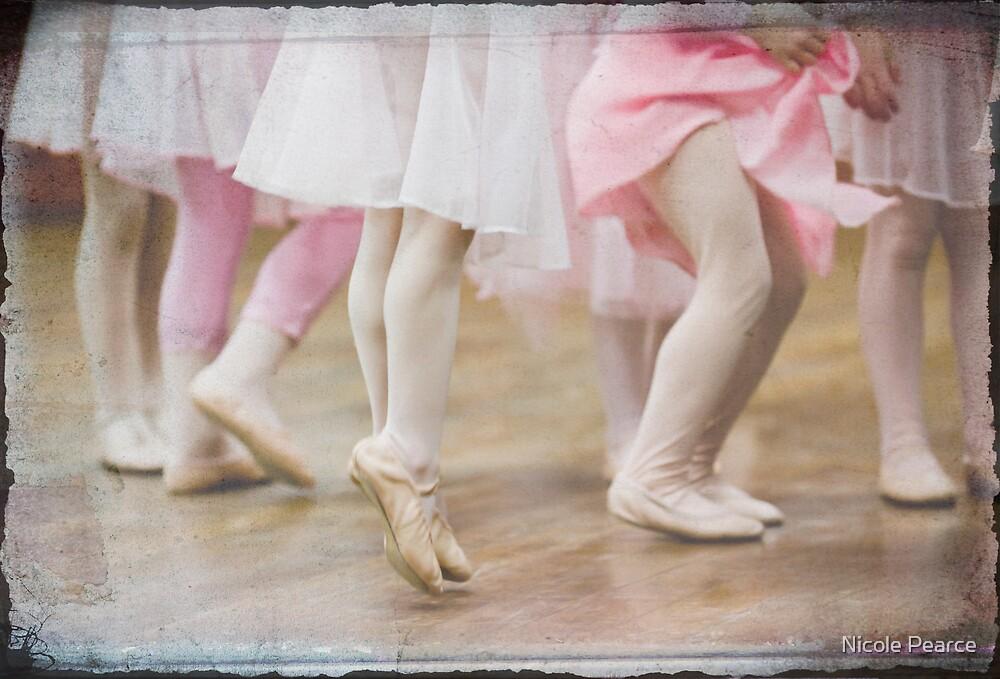 Ballet legs by Nicole Pearce