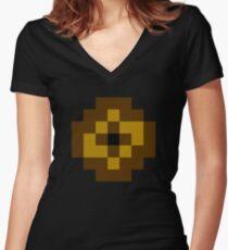 Gravelord Servant ultra retro Women's Fitted V-Neck T-Shirt
