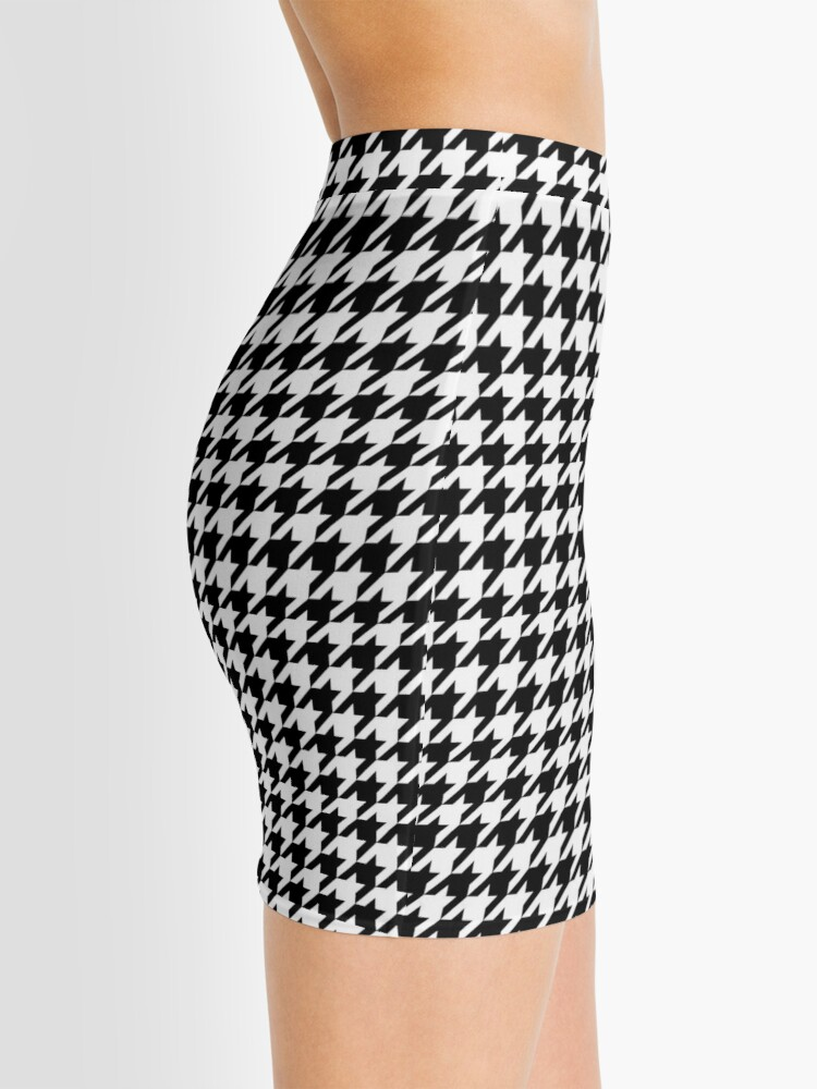 Alternate view of Houndstooth Mini Skirt