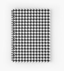 Houndstooth Spiral Notebook