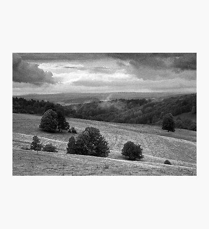 Landscape around Libverda Spa, Czech Republic Photographic Print