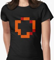 Darksign ultra retro Womens Fitted T-Shirt