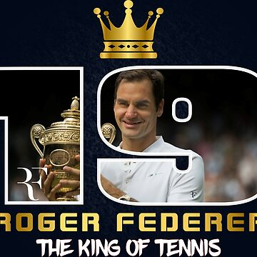 Roger Federer 19 Grand slam Tee Shirts by Mari54