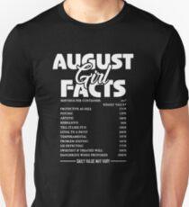 August Girl Fact T-Shirt