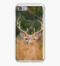 Peek A Boo Buck iPhone Case/Skin