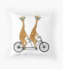 Ride Together Throw Pillow