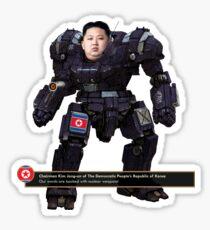 Mecha Kim Jong-un Sticker