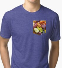 Jelly Baby Pocket Style Tee Tri-blend T-Shirt