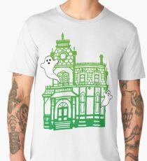 Haunted Victorian House Men's Premium T-Shirt
