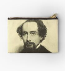 Vintage Charles Dickens Portrait Studio Pouch
