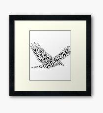 Bird Art - Birder Design Framed Print