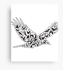 Birder Twitcher Design Canvas Print