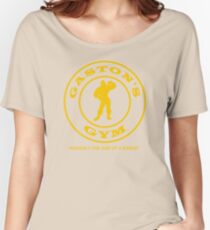 Gaston's Gym - Roughly the Size of a Barge Women's Relaxed Fit T-Shirt