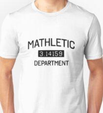 Mathletic Department 3.14159 T-Shirt